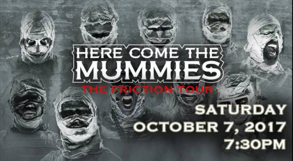 Here Come The Mummies at the Egyptian Theatre