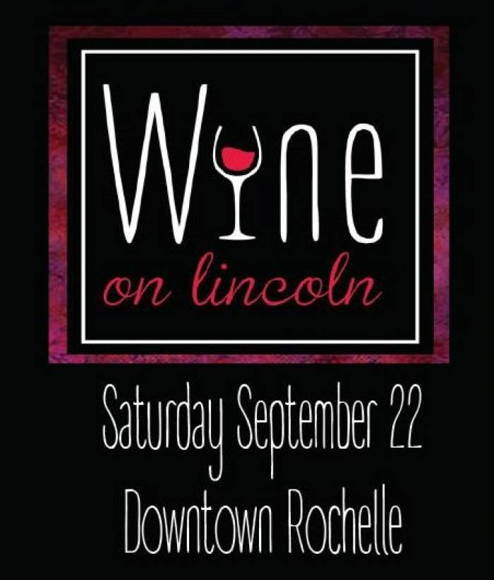 Wine on Lincoln in downtown Rochelle
