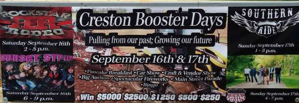 Creston Booster Days